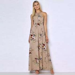 Floral Boho Beach Dress