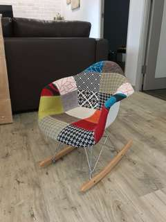 Eames toddler babychair baby chair rocking chair