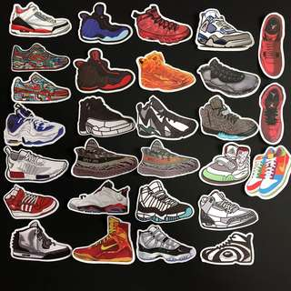 Sticker WaterProof High Quality - Sneakers and Shoes Decal Stickers
