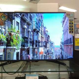 "Polytron LED Digital Flat TV 40"".GRATIS 1X CICILAN"