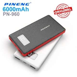 Original Pineng 6000mah Powerbank PN960 PN-960 PN 960