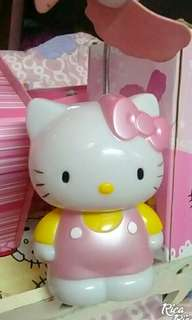 Hello kitty fan lamp