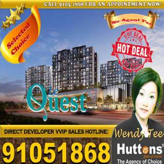 3 bedroom Brand New condo in Batok Batok above shopping mall!