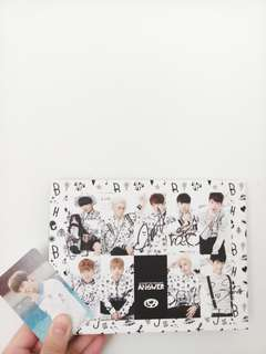 ALL MEMBER AUTOGRAPHED ALPHABAT <ANSWER>