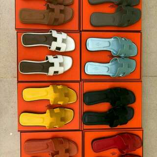 Sandal hermes size 35-40 qualitas mirror vip
