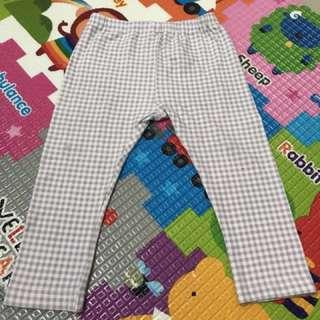 💖UNIQLO嬰兒系列💖灰白格仔長褲