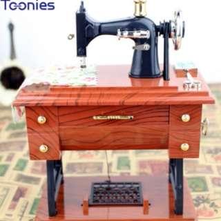 Musical Boxes Treadle Sartorius Toys Retr