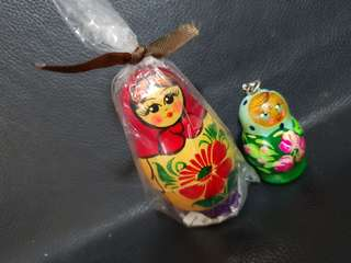 2 pcs Russia Souvenir Collectible Set