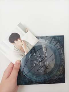 CNBLUE <CANT STOP> JUNGSHIN AUTOGRAPHED