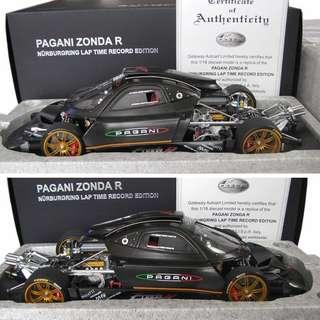 Looking For 1/18 Autoart Pagani Zonda (Nurburg Edition)