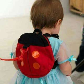 Kids Safety Harness Bag - LADY BUG