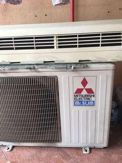 Air Conditioner mitsubishi Mr Slim 1.5 horsepower