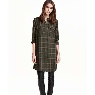 H&M shirt dress- size 8 to 10