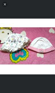 REPRICED! Baby bonnets