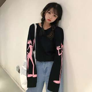 Pink Panther Long Sleeve T