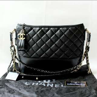 preorder chanel Gabrielle should handbag comes with chanel dustbag , tag, card* waiting time 3 days after payment is made *pm if int