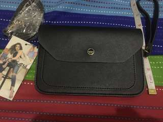 Secosana Black Sling Bag