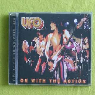 UFO. on with the action (Live at the roundhouse 1976) Cd not vinyl record