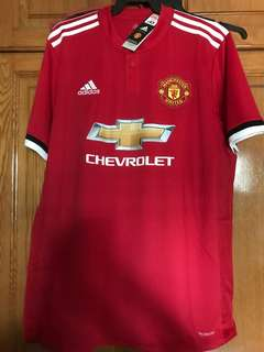 Authentic Manchester United (Man U) Jersey