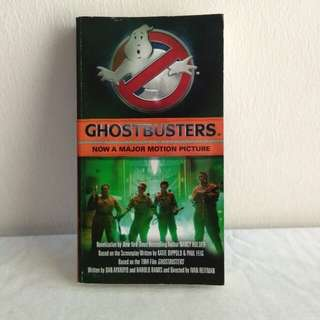 GHOSTBUSTERS Novel
