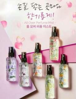 🚚 (現貨)韓國 MISSHA  淡香氛 身體噴霧120ml 熱賣 英國梨