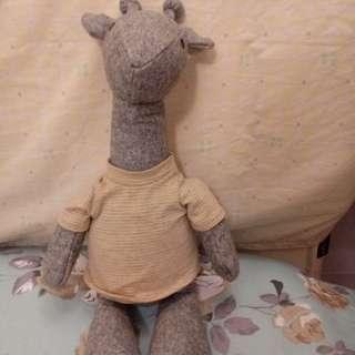 Muji giraffe soft toy
