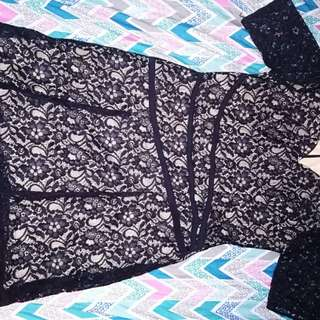 Full Laced Plus Size Dress