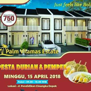 Palm vilamas estate pondok cabe