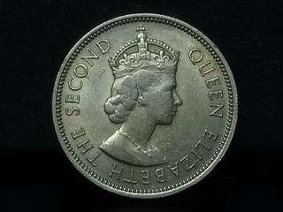 Q.Elizabeth II 1954, 20cent