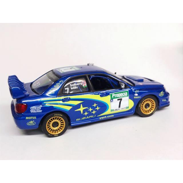 1:43 Subaru Impreza Wrc 掃把佬