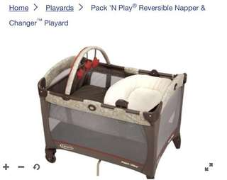 $120 Graco Pack N Play playpen babycot