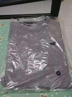 Hollister Grey Crewneck T-Shirt