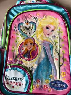 Authentic Frozen School Bag