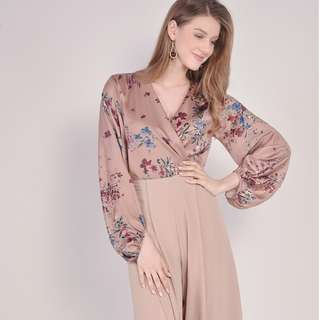 (PO) Sophia Floral Bodysuit