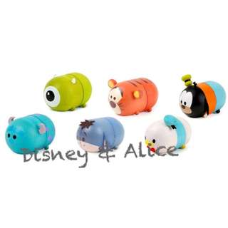 🚚 迪士尼 Disney / TSUM公仔木質磁鐵夾 / D256 / 大眼仔 毛怪 跳跳虎 屹耳 唐老鴨 高飛 名片夾