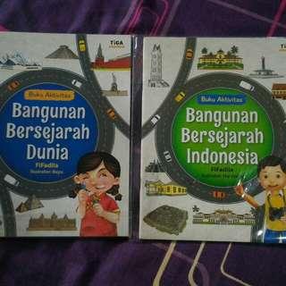 Buku anak Bangunan bersejarah Dunia dan Indonesia