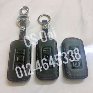 Leather case for Mitsubishi remote key (Outlander/ASX/Lancer)