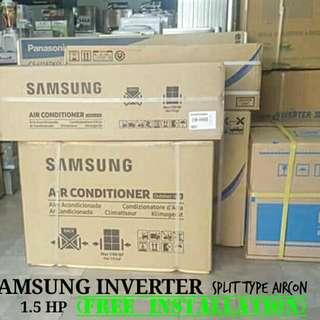 SAMSUNG Inverter 1.5HP Split type Aircon