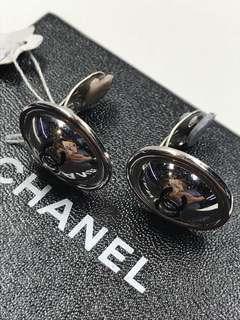 Chanel 復刻 移鵝蛋夾款耳環 全新購自巴黎
