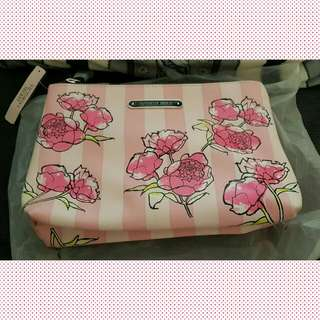 Authentic Victoria' Secret Floral Pouch