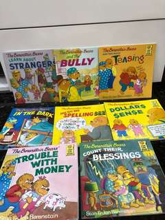 Berenstain Bears Series Story Books Children (Good Condition)