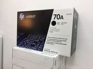 HP原裝 70A 黑色 鐳射碳盒 全新