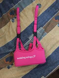 Walking Wings Pink Baby Walker
