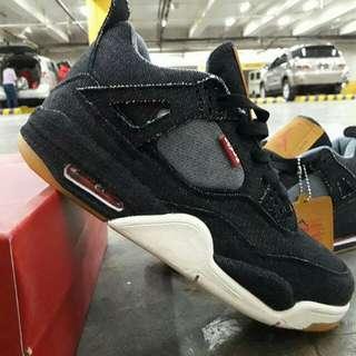 Jordan 4  X Levis