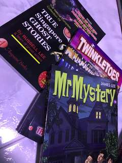 Mr Mystery/Mr Midnight/TwinkleToes/True SG Ghost Stories