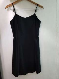 Plain Black Formal Dress