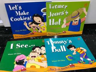 Red Train Readers - Nursery Children English Book Pictures