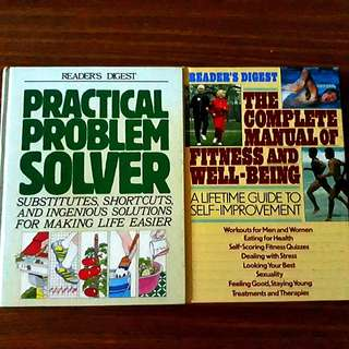2 for $18: Reader's Digest: Practical Problem Solver, The Complete Manual of Fitness and Well-Being