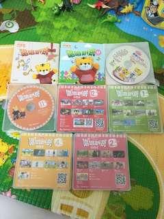 🚚 巧虎CD跟DVD- 2016-2017年