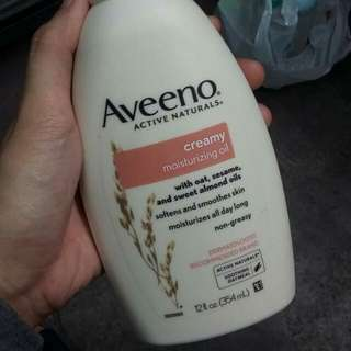 Aveeno Cremy Moisturizing Oil 345ml